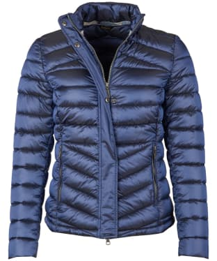 Women's Barbour Vartersay Quilted Jacket - Royal Navy