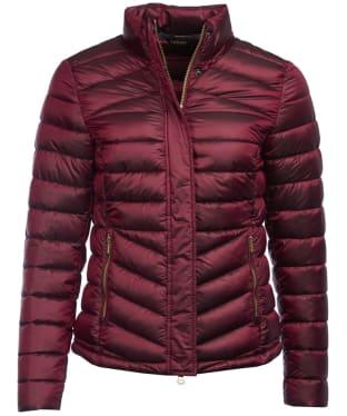 Women's Barbour Vartersay Quilted Jacket - Berry Pink