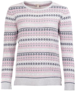 Women's Barbour Roseberry Knitted Sweater - Blush Pink