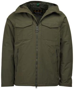 Men's Barbour Harlech Waterproof Jacket - Olive