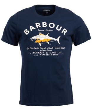 Men's Barbour Country Tee - Navy