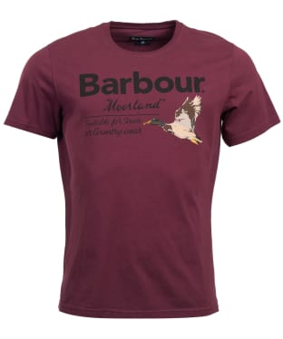 Men's Barbour Country Tee - Merlot
