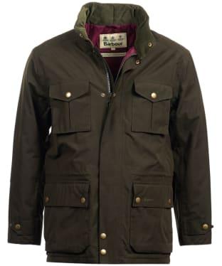 Men's Barbour Kelso Waterproof Jacket - Dark Olive