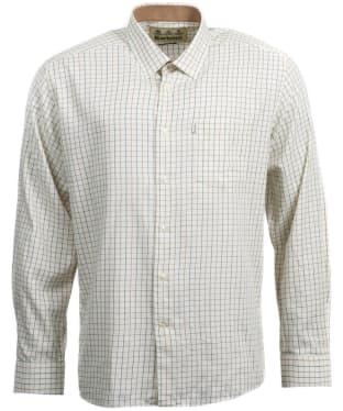 Men's Barbour Charlton Wool Mix Shirt - Neutral