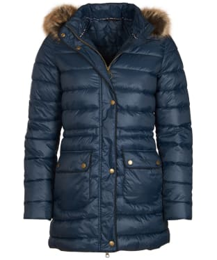 Women's Barbour Redpoll Quilted Jacket - Navy
