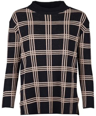 Women's Barbour Annis Knitted Sweater - Navy
