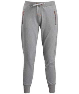 Women's Barbour International Backmarker Pants - Light Grey Marl