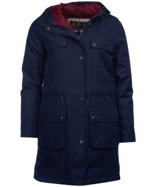 Women's Barbour Isobar Waterproof Jacket - Navy