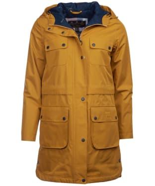 Women's Barbour Isobar Waterproof Jacket - Lunar Yellow