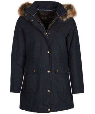 Women's Barbour Buttermere Waterproof Jacket - Navy