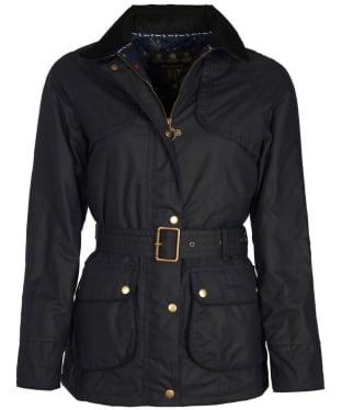 Women's Barbour Ambleside Wax Jacket - Royal Navy