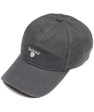 Men's Barbour Cascade Sports Cap - Charcoal Grey