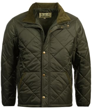 Men's Barbour Barron Quilted Jacket - Forest