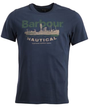 Men's Barbour Pilot Tee - Navy