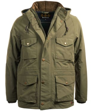 Men's Barbour Tiree Waterproof Jacket - Olive