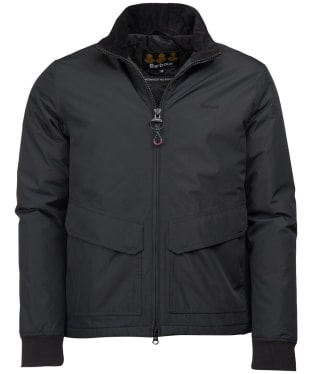 Men's Barbour Herrington Waterproof Jacket - Black