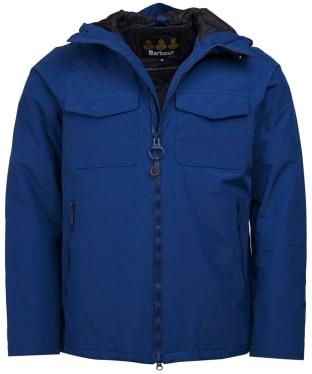 Men's Barbour Harlech Waterproof Jacket - Inky Blue