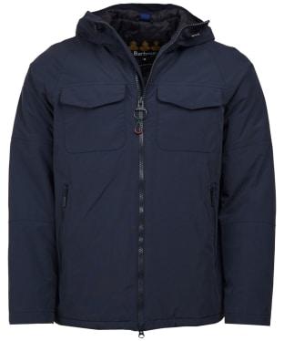Men's Barbour Harlech Waterproof Jacket - Navy