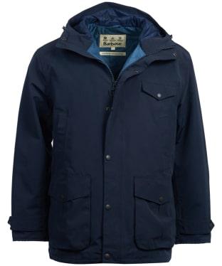 Men's Barbour Sire Waterproof Jacket - Navy