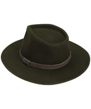 Men's Barbour Crushable Bushman Hat - Olive