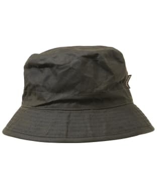 Men's Barbour Waxed Sports Hat - Olive