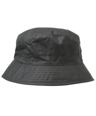 Men's Barbour Waxed Sports Hat - Sage