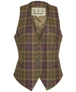 Women's Barbour Coverdale Waistcoat - Sporting Tartan