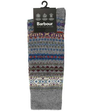 Men's Barbour Boyd Socks - Grey Mix