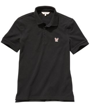 Men's Aigle Eaglewin Short Sleeve Poloshirt - Black