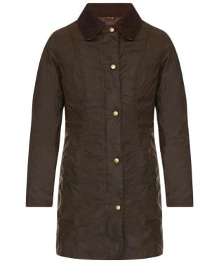Women's Barbour Belsay Wax Jacket - Olive