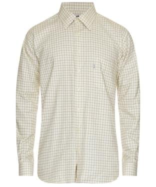 Men's Barbour Balfron Shirt - Green / Brown