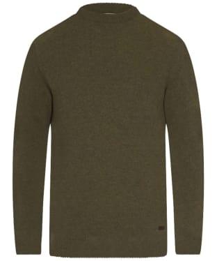 Men's Barbour Nelson Essential Crew Sweater - Seaweed