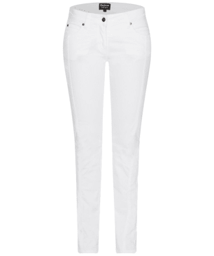 Women's Barbour International Vision Jeans - White