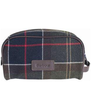 Barbour Tartan Wash Bag - Classic Tartan