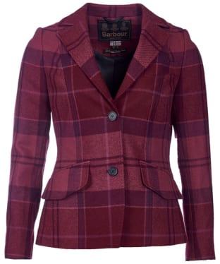 Women's Barbour Nebit Tailored Jacket - Bordeaux