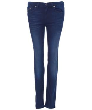 Women's Barbour International Kestral Skinny - Authentic Blue