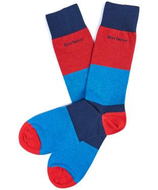 Men's Barbour Cleadon Socks - Navy