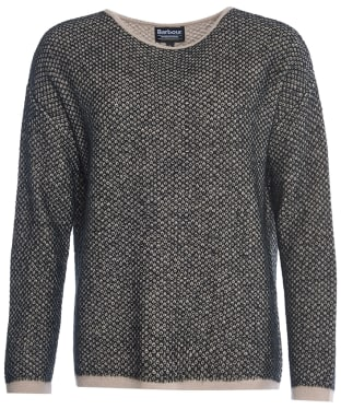 Women's Barbour International Chicara Crew Neck Sweater