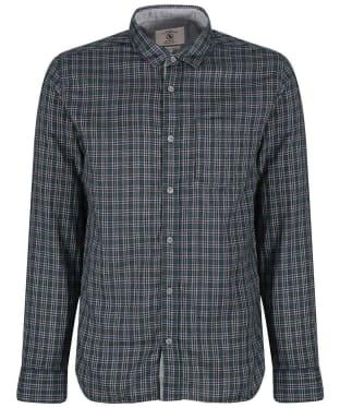 Men's Aigle Softon Preppy Shirt - Evergreen Check