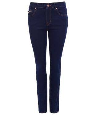 Women's Barbour International Bimota Slim Jeans - Rinse