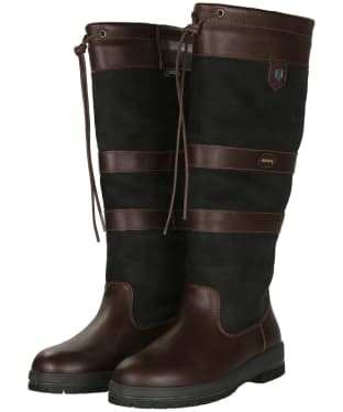 Dubarry Galway Boots - Black / Brown