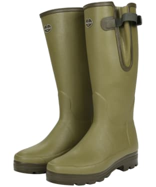 Men's Le Chameau Vierzonord XL Calf Wellingtons - Green