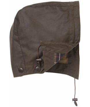 Barbour Classic Sylkoil Hood - Olive