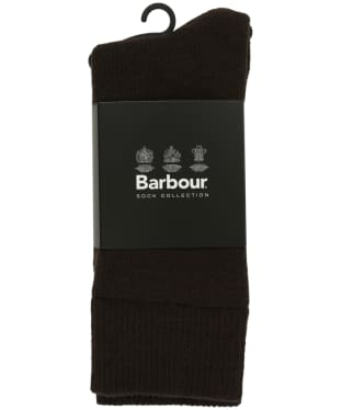 Men's Barbour Boot Socks - Earth