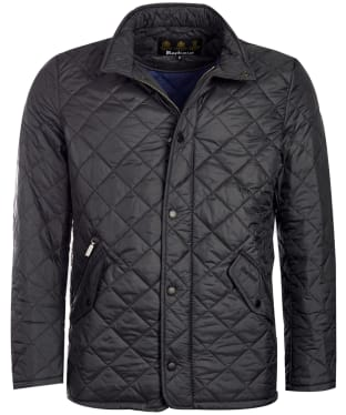 Men's Barbour Flyweight Chelsea Quilted Jacket - Black