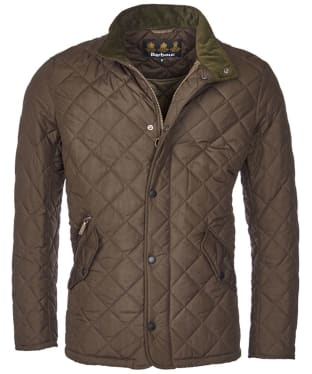 Men's Barbour Chelsea Sportsquilt Jacket - Olive