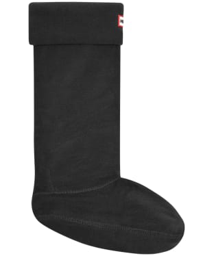 Hunter Fleece Welly Socks Adult - Black
