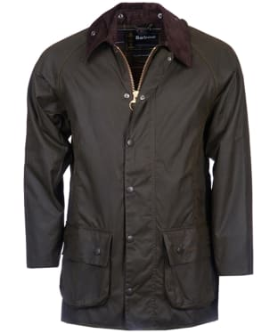 Men's Barbour Classic Beaufort Waxed Jacket - Olive