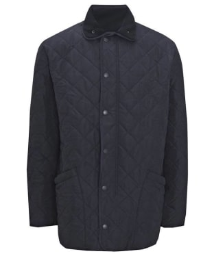 Men's Barbour Microfibre Polarquilt Jacket - Navy