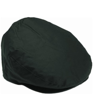 Men's Barbour Waxed Flat Cap - Sage